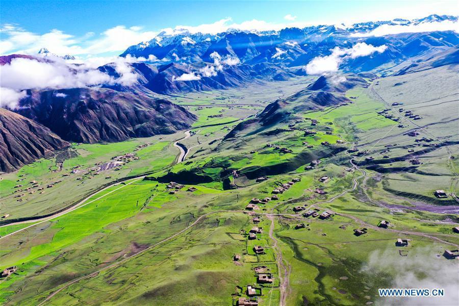 Scenery of Qamdo, Tibet