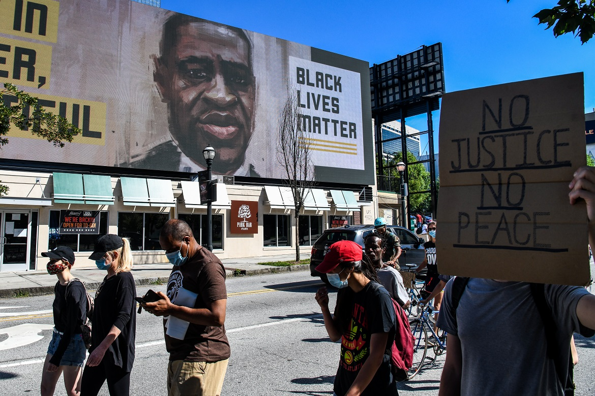 George Floyd's brother says black lives do not matter in US