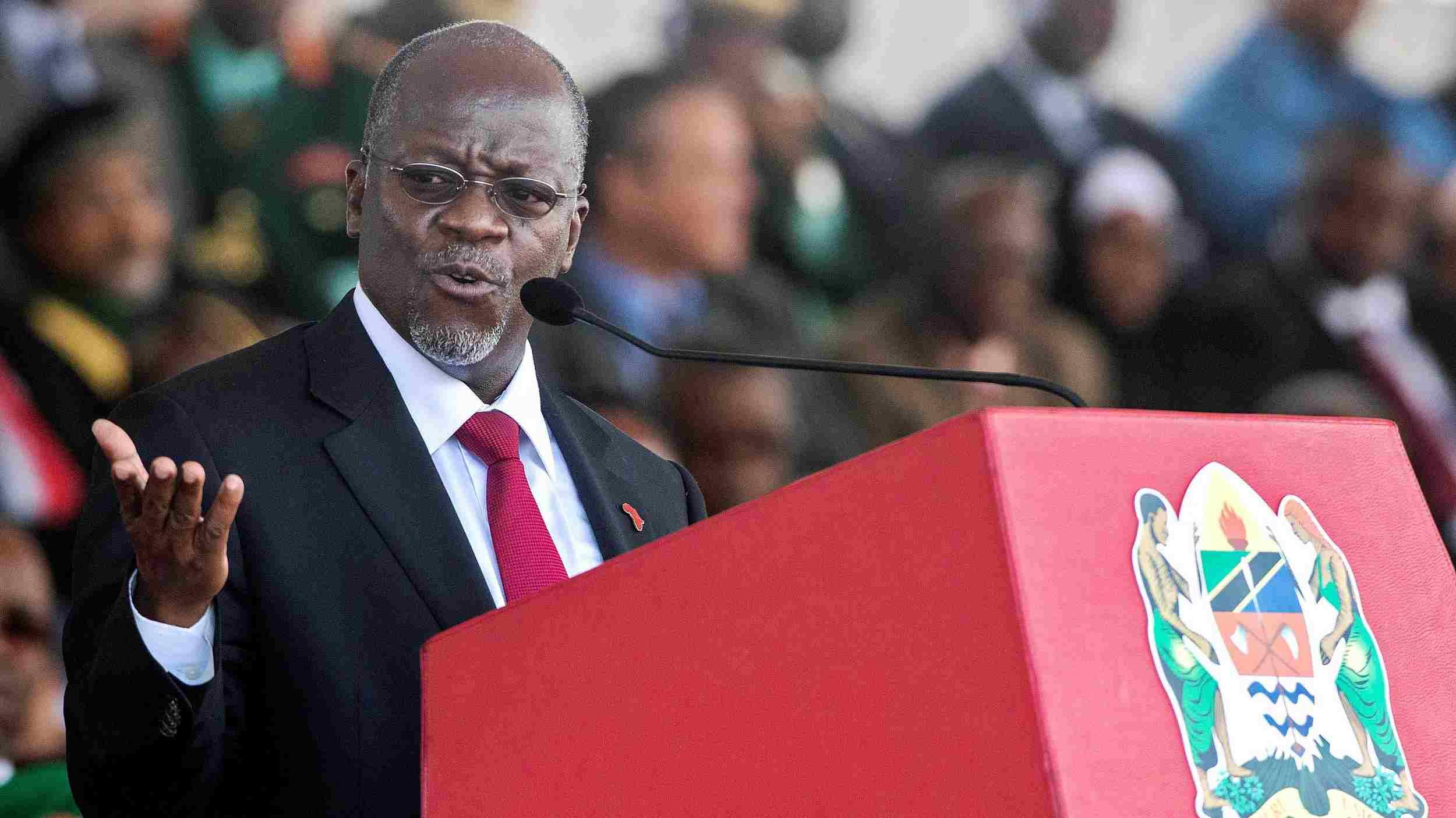 Tanzanian president Magufuli seeks re-election