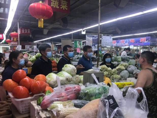 Beijing reports eight COVID-19 cluster infections related to Xinfadi market