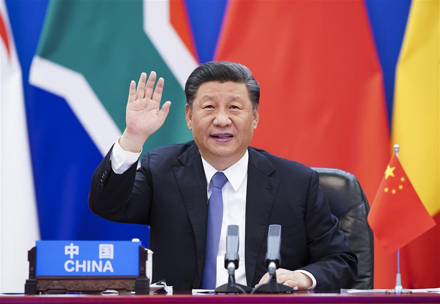 Xi chairs China-Africa summit, calls for solidarity to defeat COVID-19