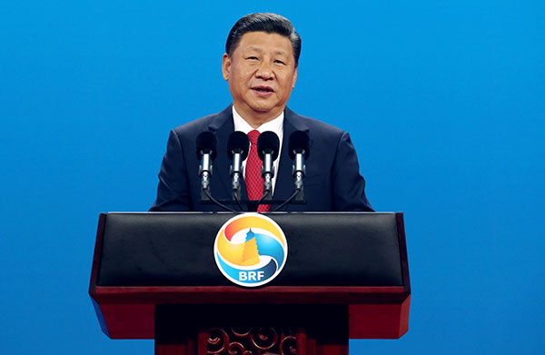 President Xi Jinping sends letter to high-level conference on Belt and Road int'l cooperation