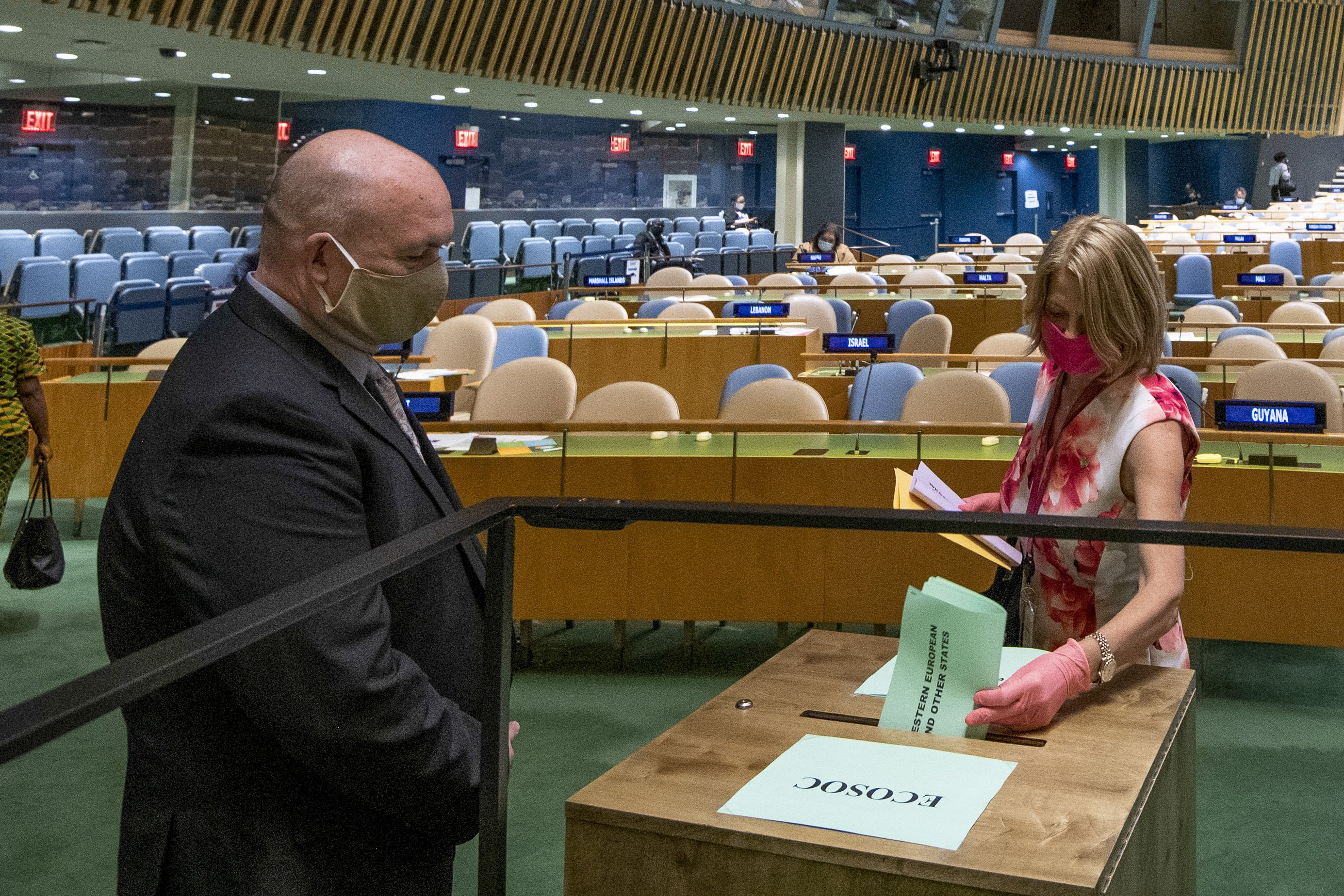 Norway, Ireland win UN council seats in vote amid pandemic