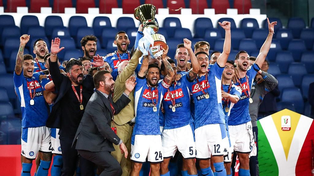 Napoli defeat Juventus on penalties to win Coppa Italia