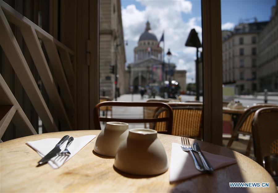 About 300,000 restaurants and cafes reopen in France