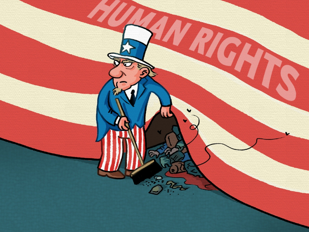US human rights situation deserves international scrutiny