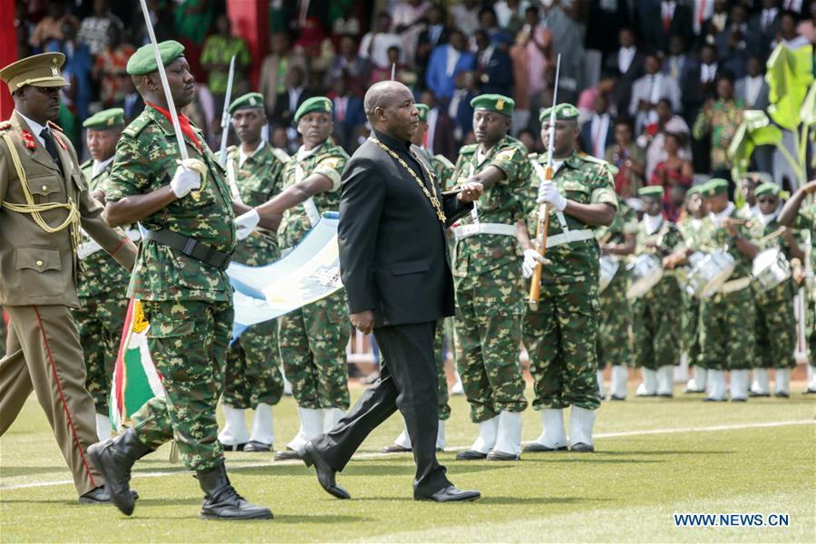 Burundi's Evariste Ndayishimiye sworn in as new president
