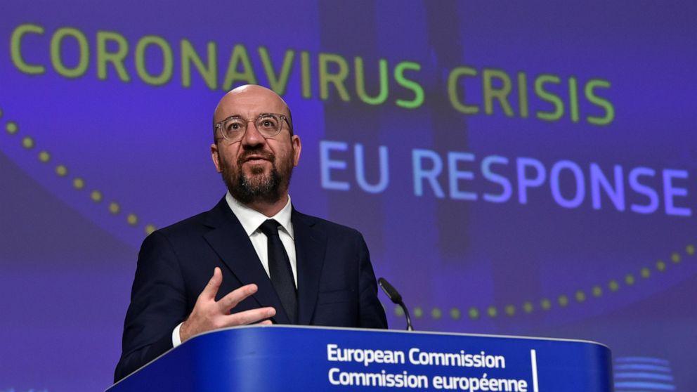 EU leaders launch talks on huge virus recovery plan