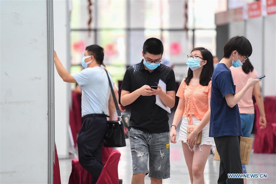 Job fair held in Changsha, Hunan