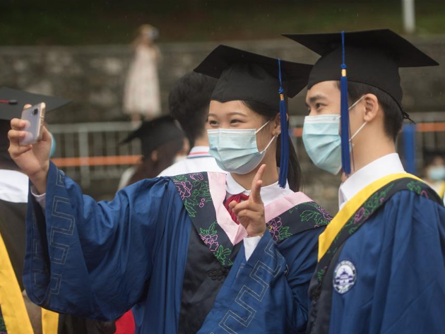 Wuhan University holds commencement ceremony 2020