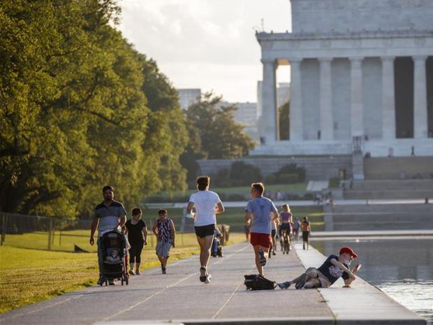 Daily life in Washington DC, US