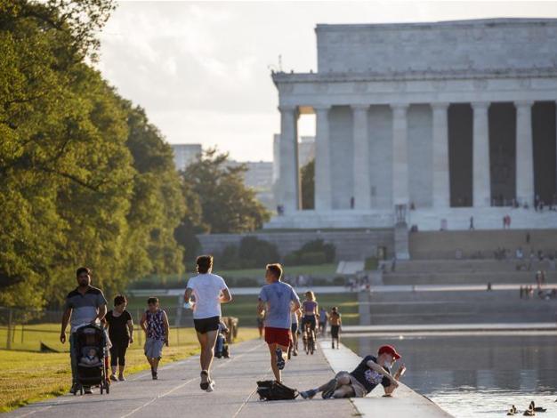 Daily life in Washington D.C., U.S.