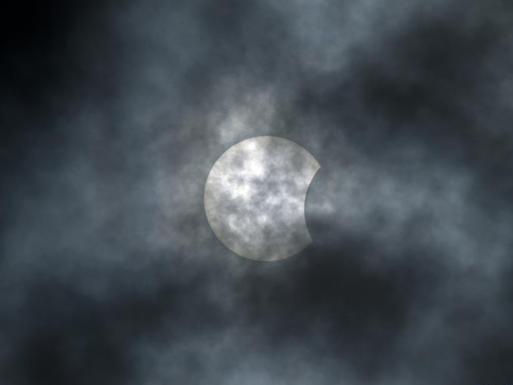 Partial solar eclipse seen worldwide