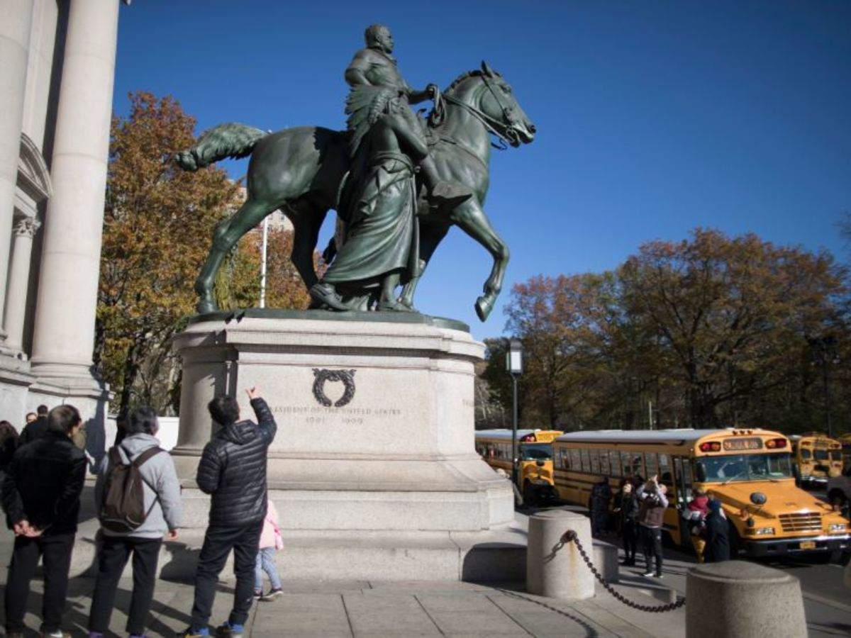 New York City to remove Roosevelt statue over racism concerns
