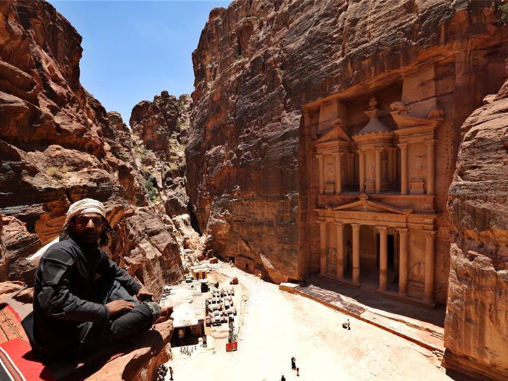Jordan's ancient city of Petra reopens to tourists