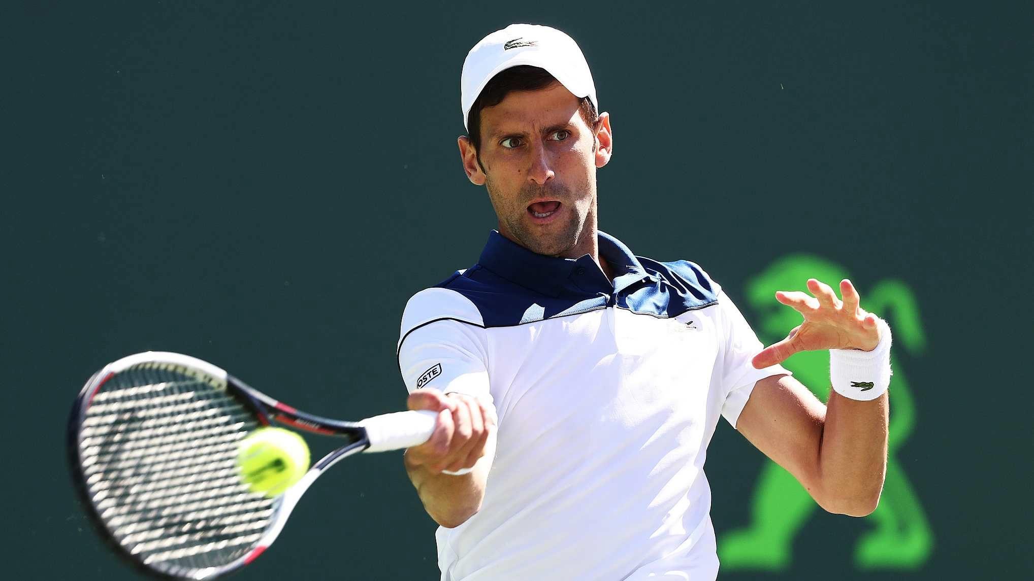 Djokovic says he tested positive for coronavirus