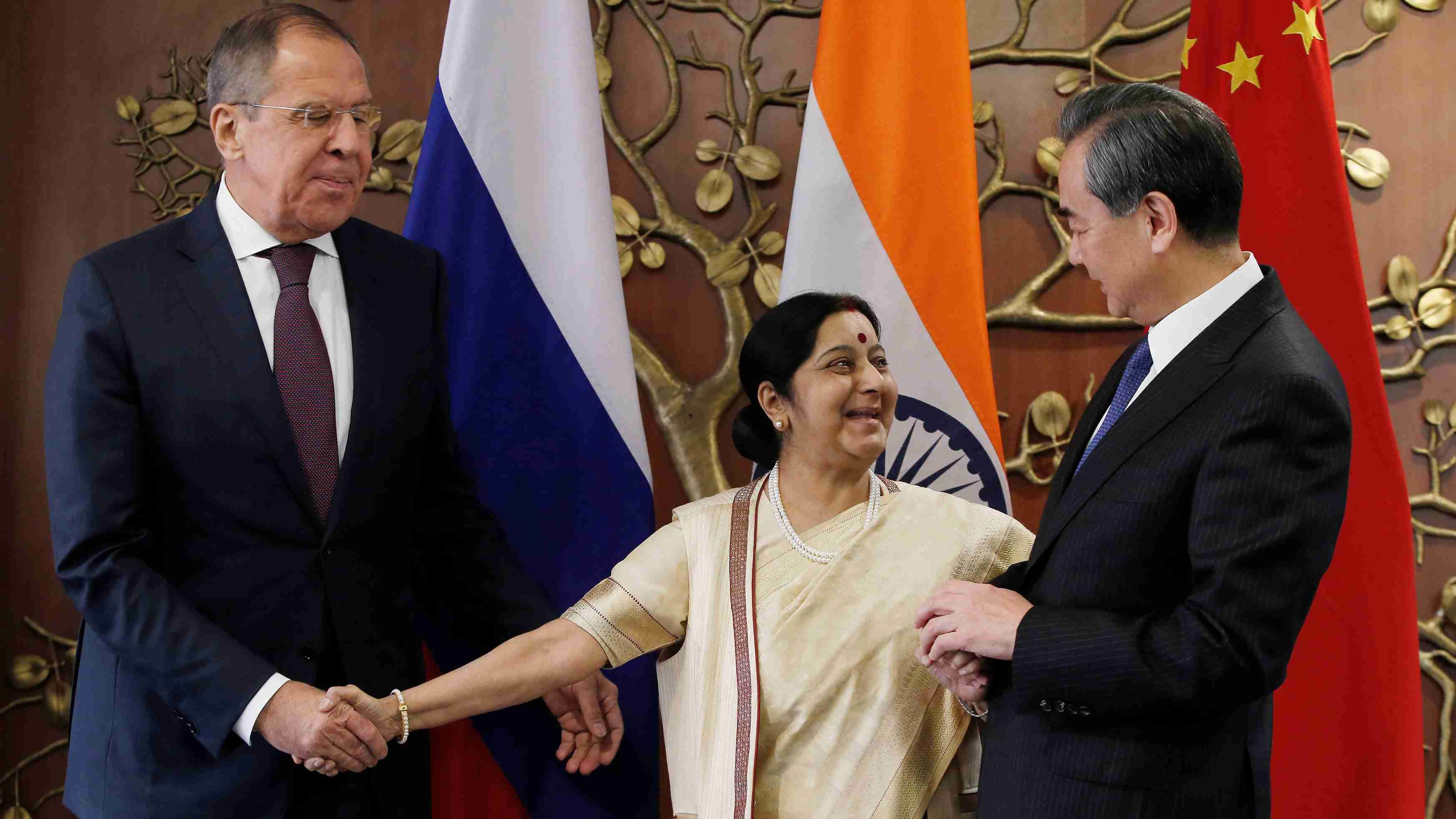 Chinese, Russian and Indian foreign ministers to hold video meeting
