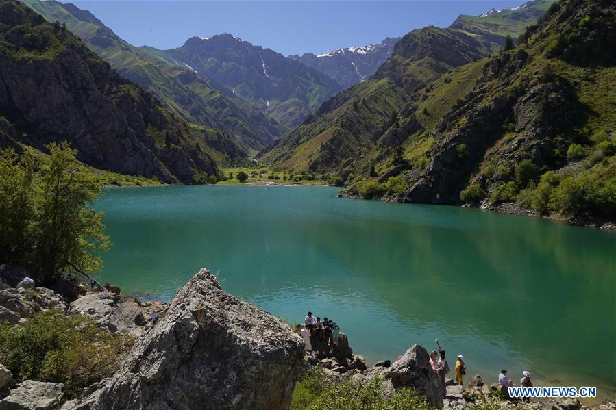 Scenery of Ugam-Chatkal National Park in Uzbekistan