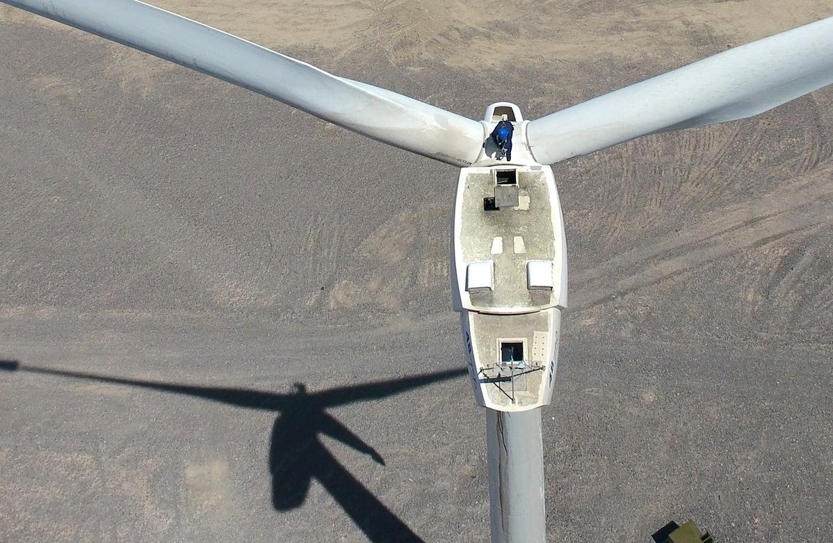 NW China's Xinjiang transmits 80 bln kWh of green energy