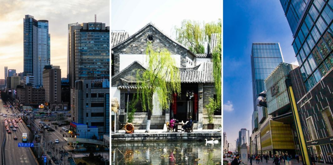 Top 10 Chinese regions by urbanization potential