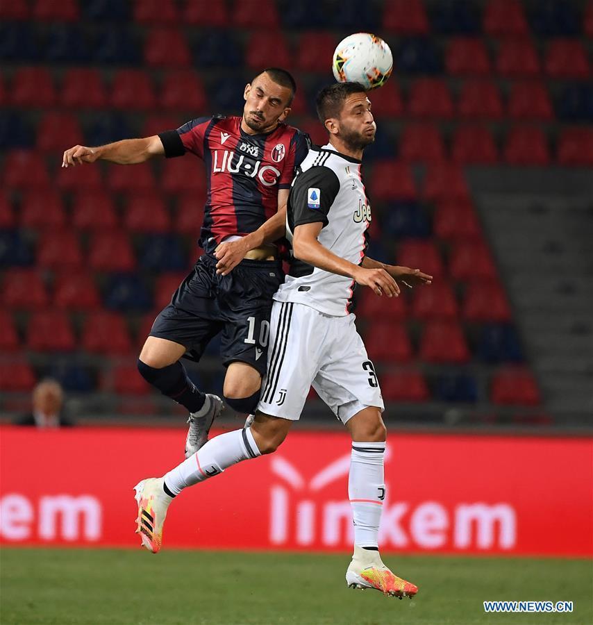 Serie A football match: Bologna vs. FC Juventus