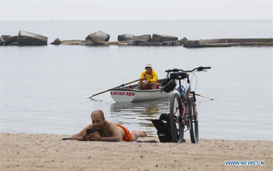 Lifeguards return to six of Toronto's swimming beaches in Canada