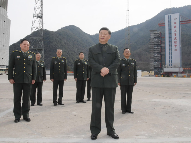 President Xi and BeiDou Navigation Satellite System