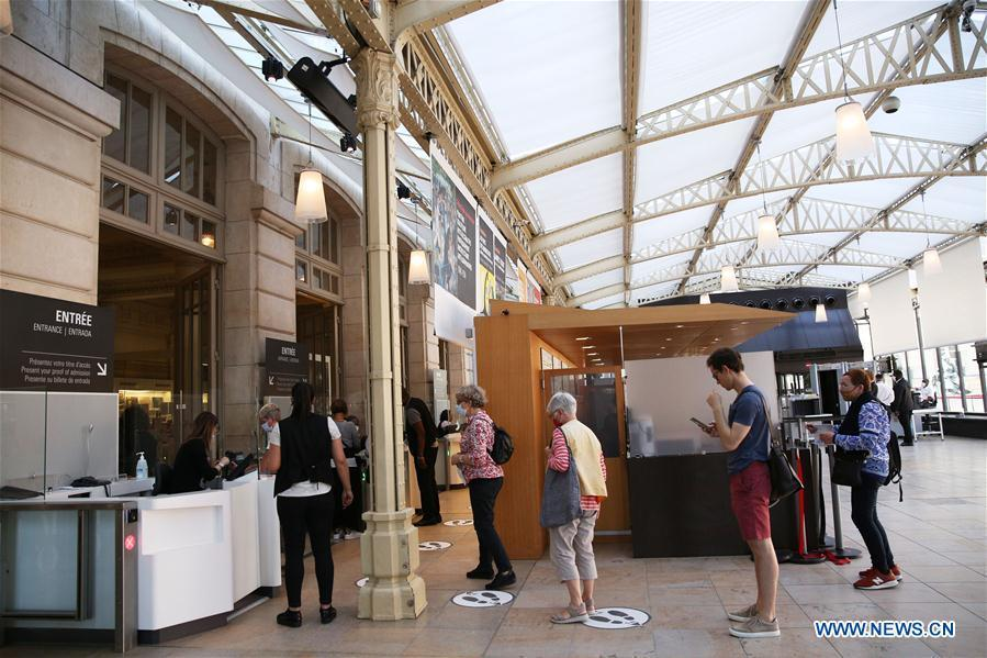 Musee d'Orsay reopens to public in Paris