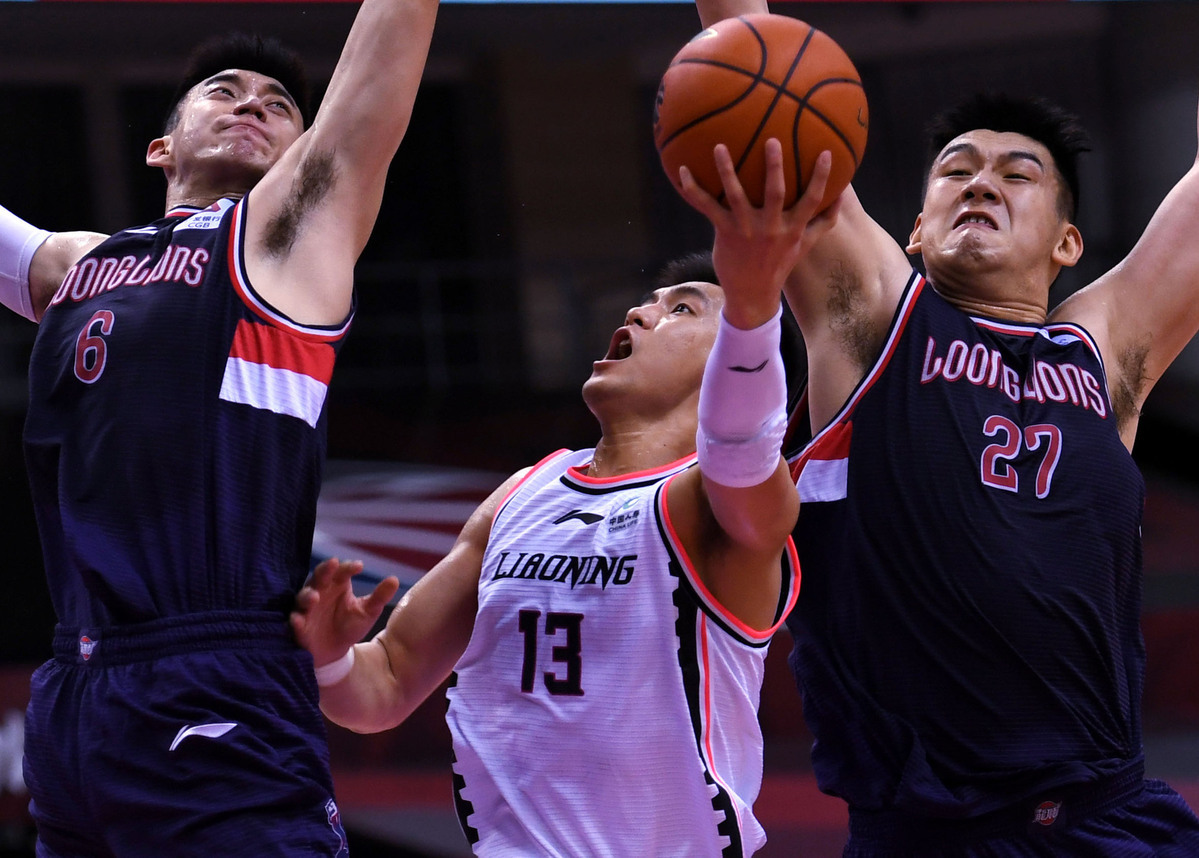 Guangzhou upset Liaoning, Nanjing beat Beijing in CBA