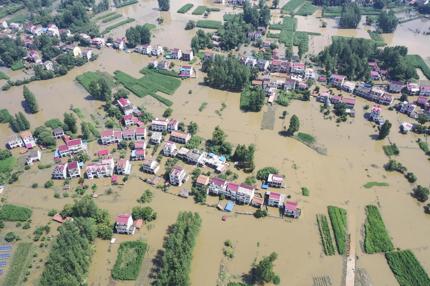 Rainstorms continue to batter Chinese provinces