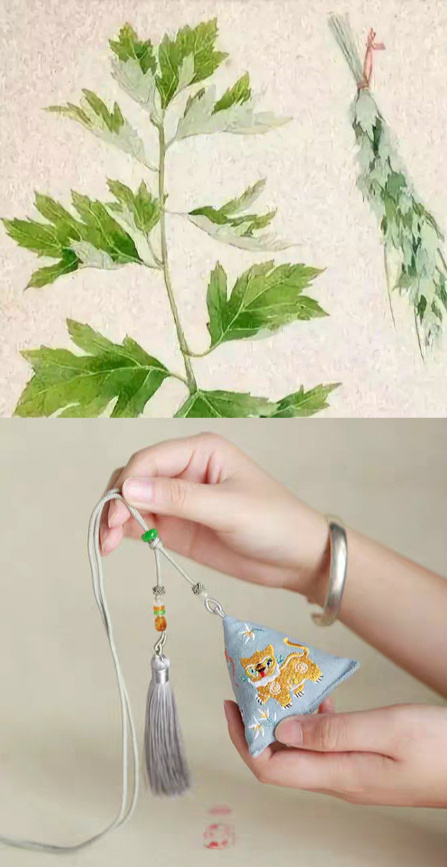 Traditional Chinese wormwood products offer safe and healthy Duanwu Festival