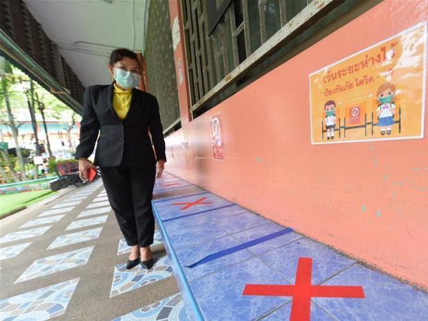 Schools in Thailand scheduled to reopen