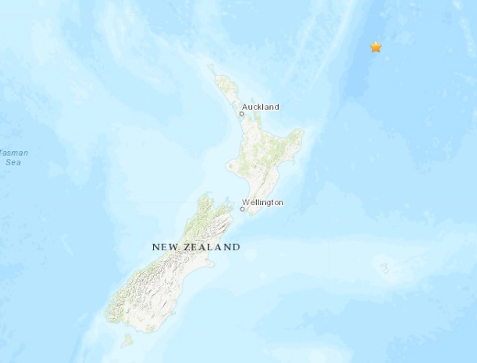 5.9-magnitude quake hits Milford Sound of New Zealand