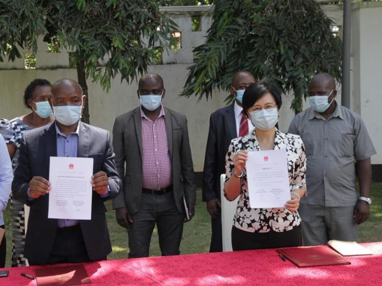 China donates COVID-19 protective facilities to Tanzanian schools