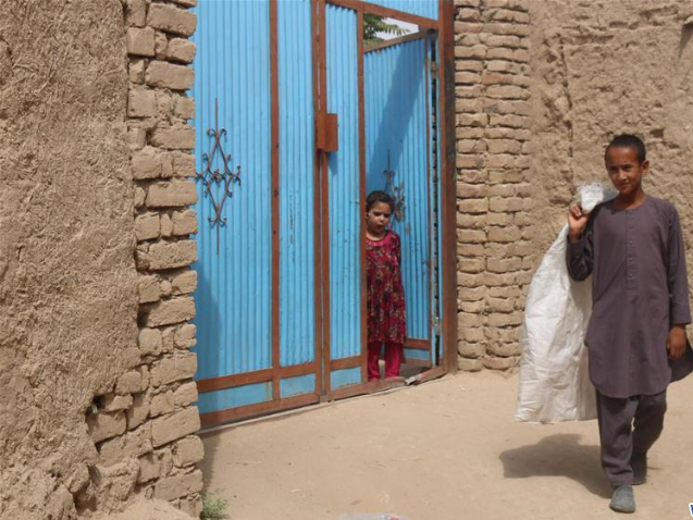 Afghan street child strives for clean environment, better life