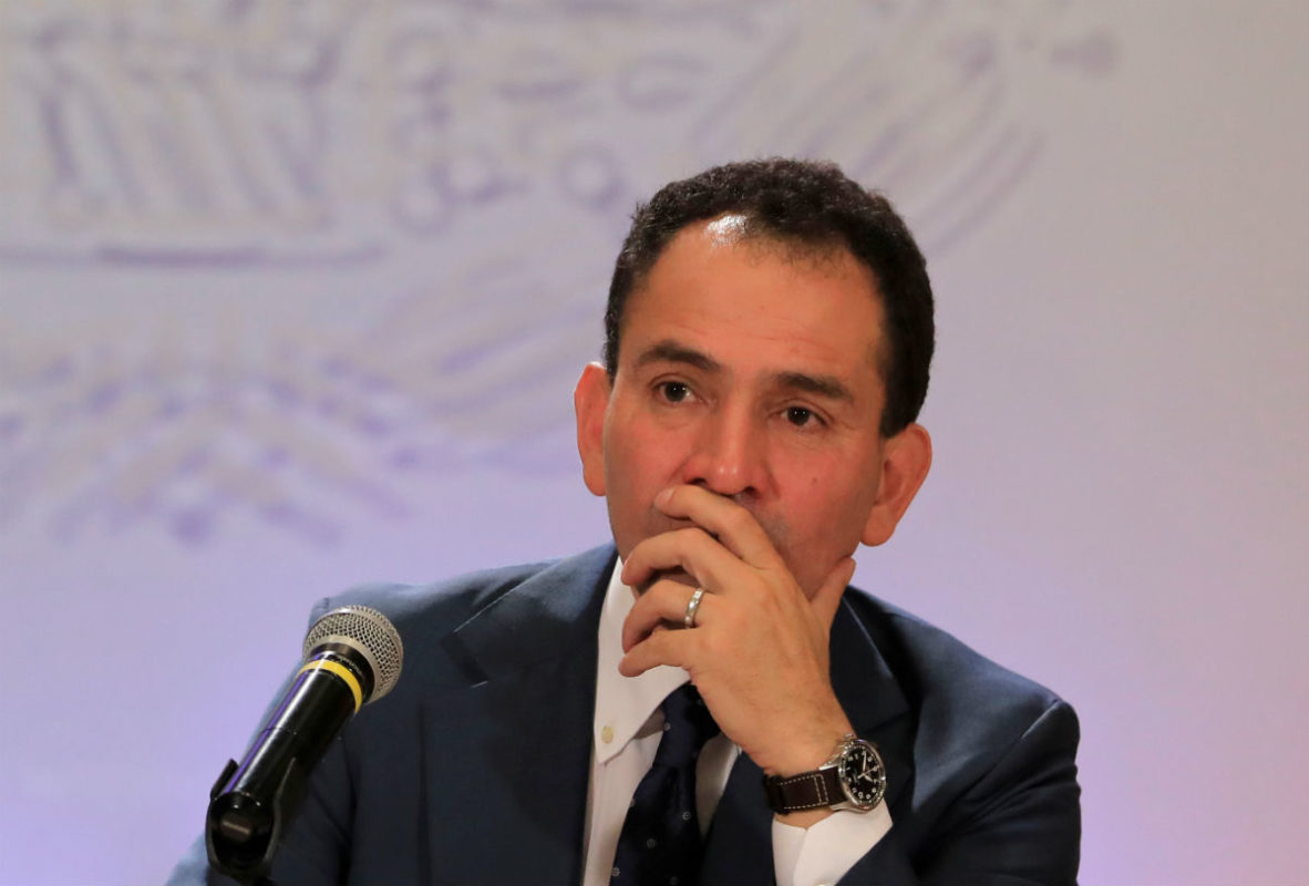 Mexico's finance minister tests positive for virus