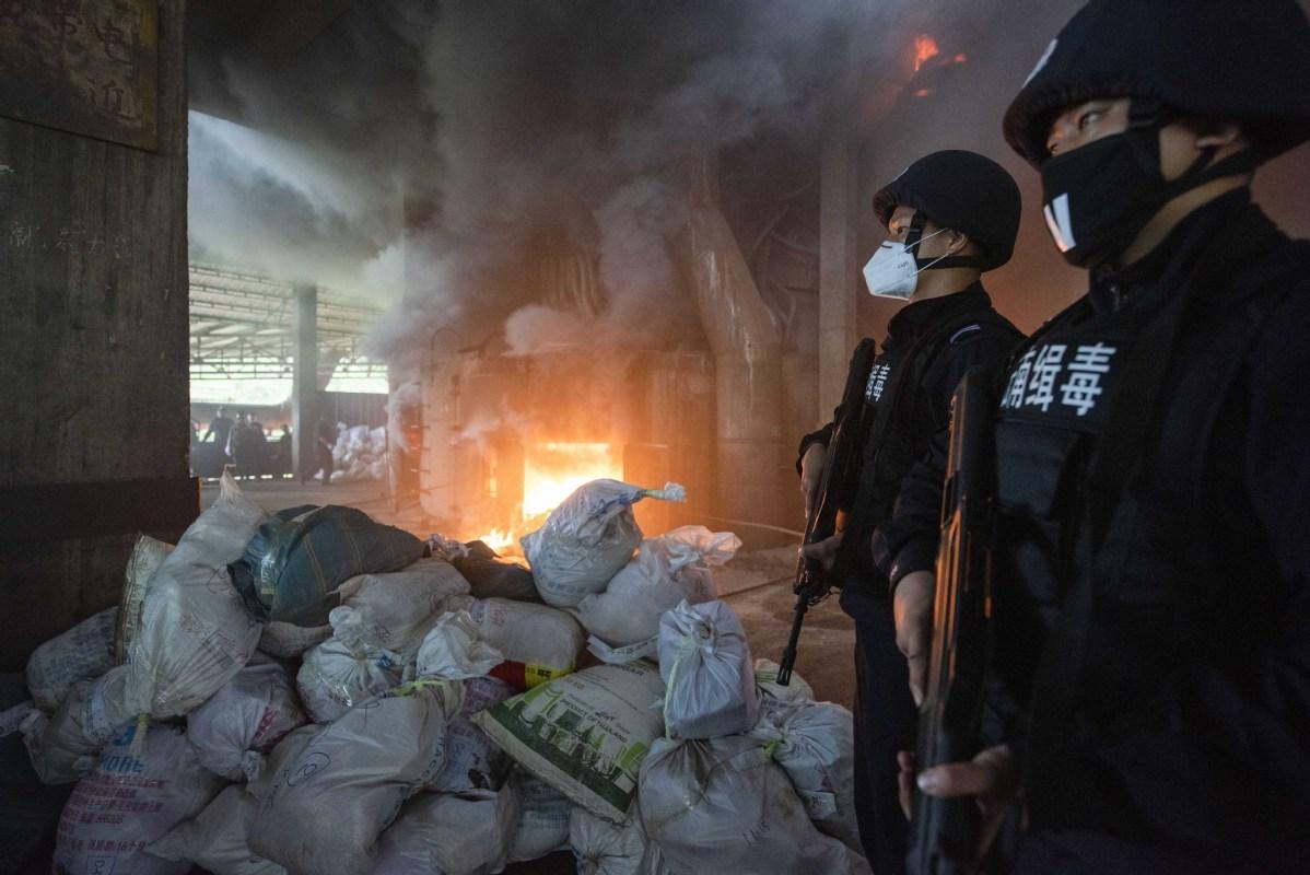 Overseas drugs threaten efforts of crackdown