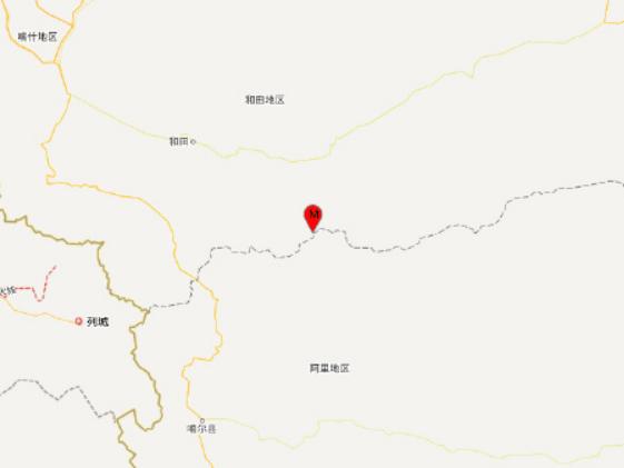 6.4-magnitude quake hits Xinjiang: CENC