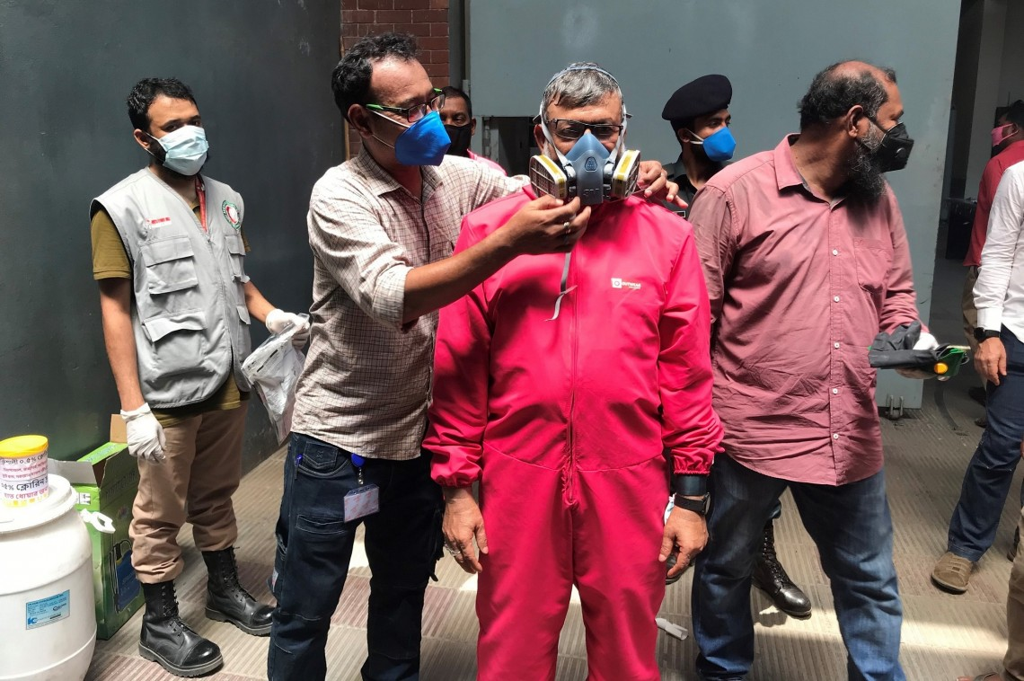 Bangladesh's COVID-19 cases rise to 133,978, with 3,504 new infections