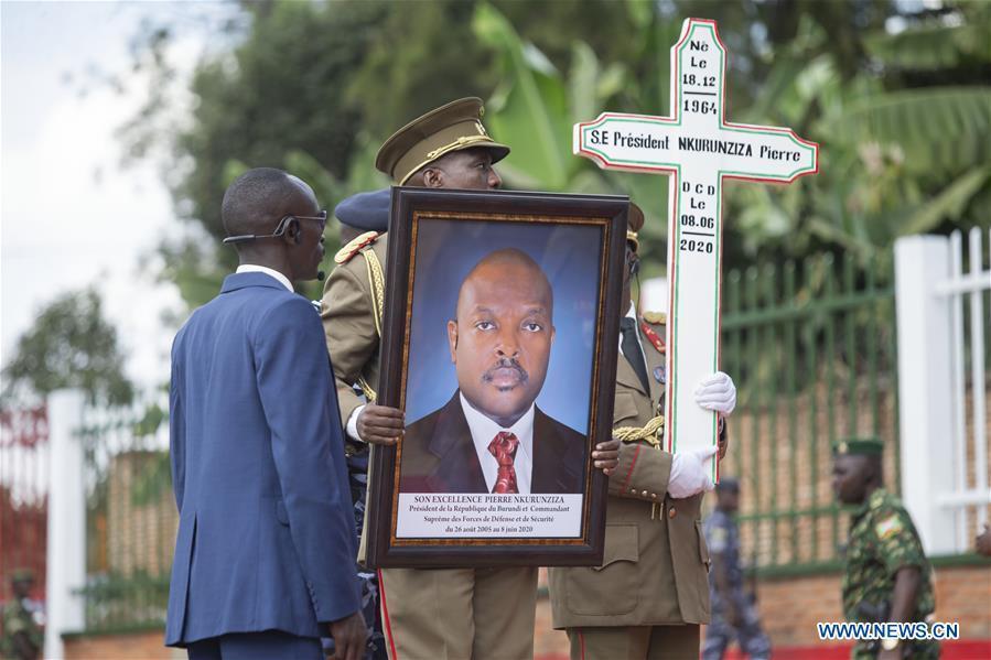 Burundi holds state funeral for late President Pierre Nkurunziza