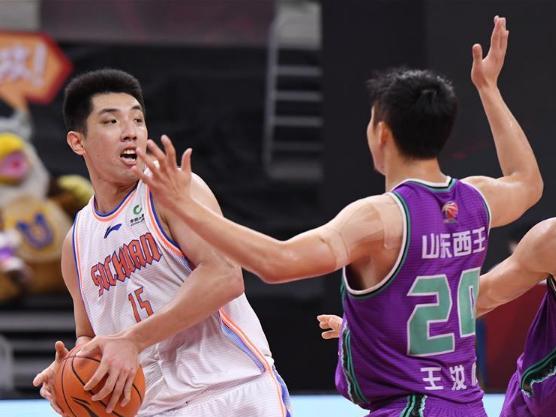 CBA match: Shandong Heroes vs. Sichuan Blue Whale