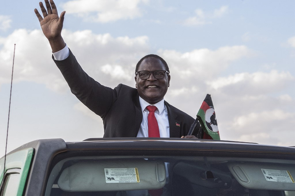 Malawi opposition leader wins presidential election