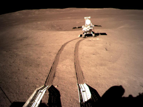 China's lunar rover travels about 463 meters on moon's far side