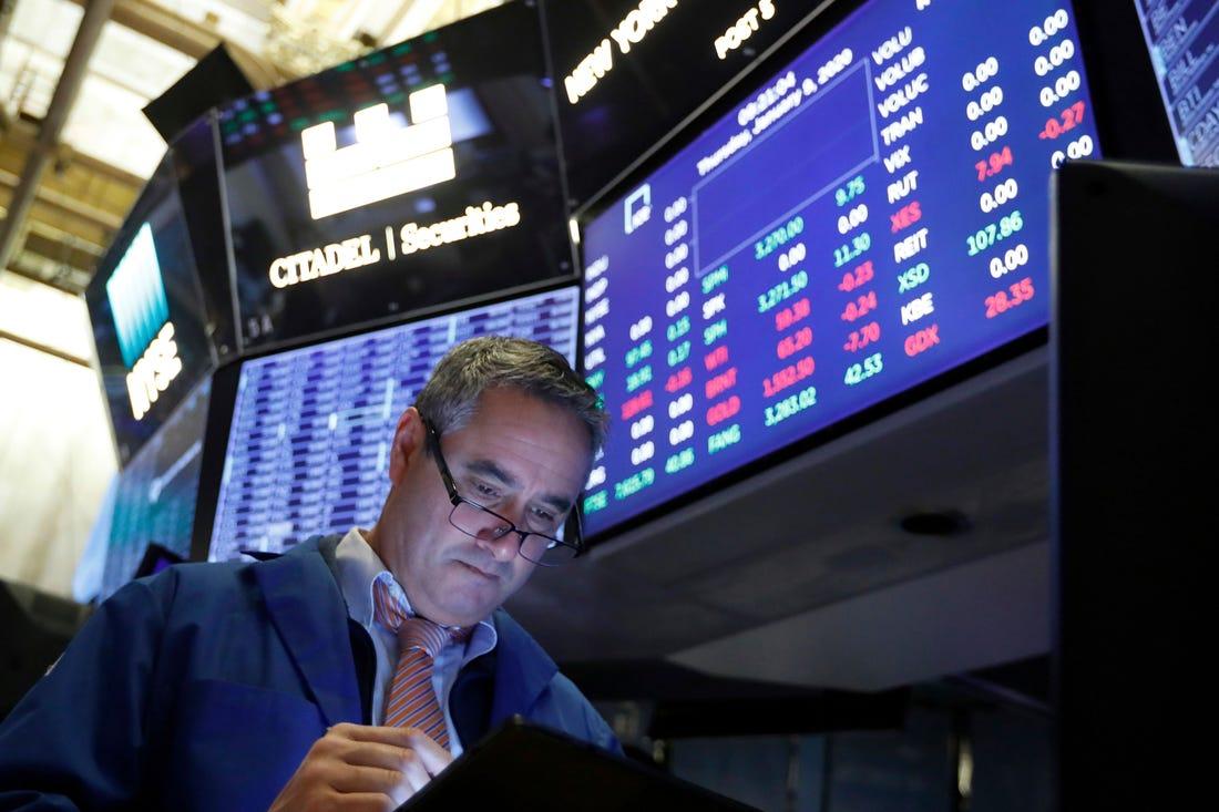 Stocks open higher on Wall Street following last week's drop