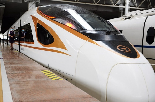 New high-speed railway opens for regional integrated development