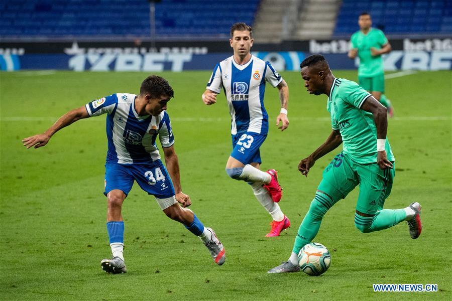 Espanyol slide closer to relegation after Real Madrid loss