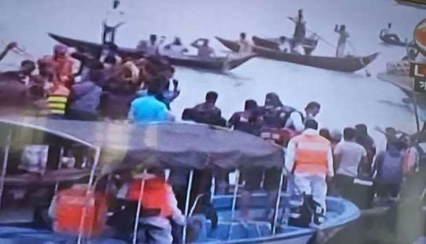 At least 24 dead after ferry sinks in Bangladesh capital river