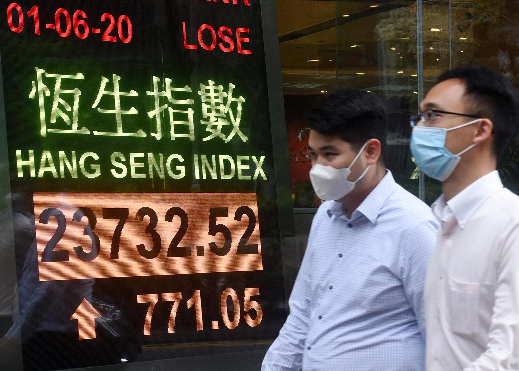 Hong Kong shares up 0.89 pct by midday