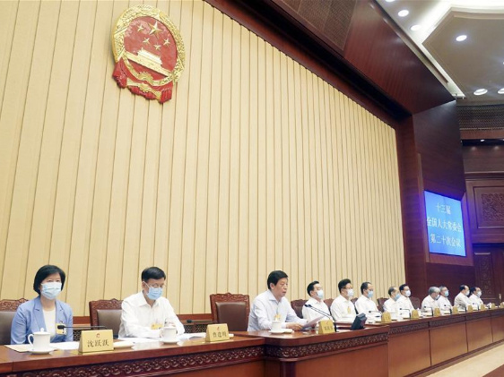 China's top legislature closes standing committee session