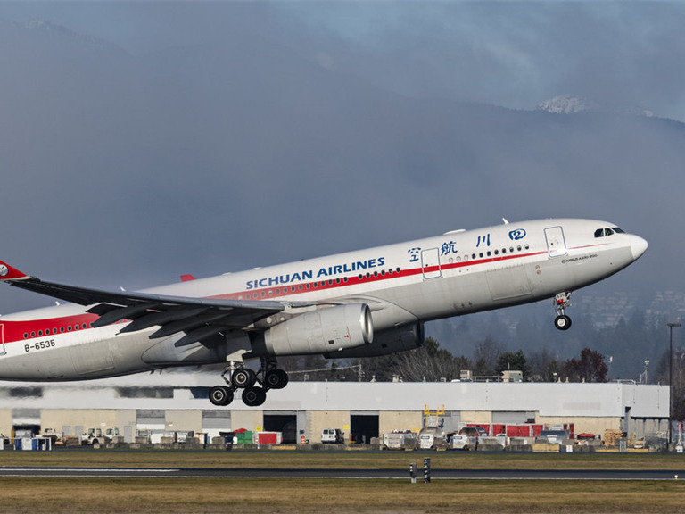 Sichuan Airlines' Cairo-Chengdu flight suspended after 6 test positive for virus